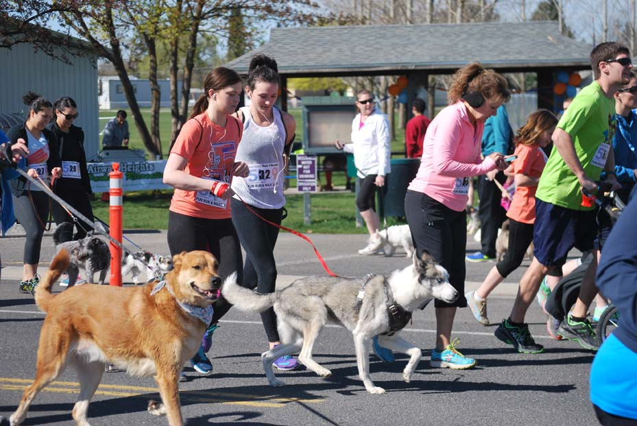 Fun Run dog walk  4 - 04232015